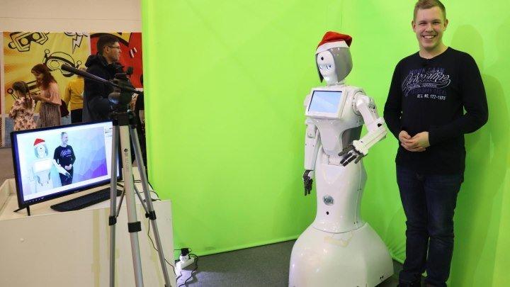 Новогоднее путешествие 3 сезон 7 выпуск на фестивале роботов RoboStars в Барнауле 2019 год