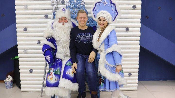 Новогоднее путешествие 3 сезон 8 выпуск в Алтайской резиденции Деда Мороза в Барнауле 2019 год