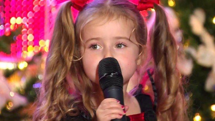 "Малышка классно поёт ""А ты меня любишь, ага!"""