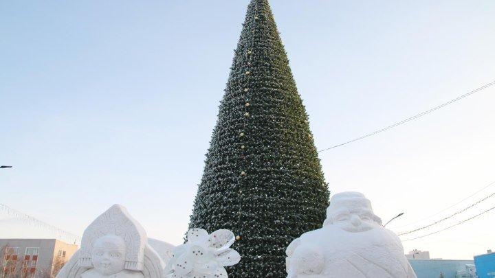 Новогоднее Путешествие 3 сезон 9 выпуск на главной Ёлке Алтайского края