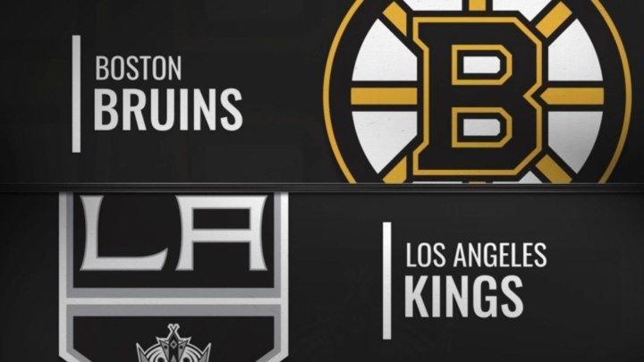 NHL Regular Season 2018-19 Boston Bruins-Los Angeles Kings