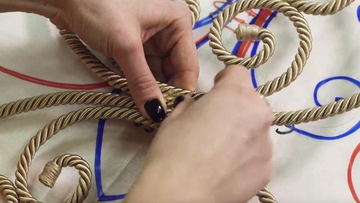 Как сделать ажурный шнур? Мастер-класс!