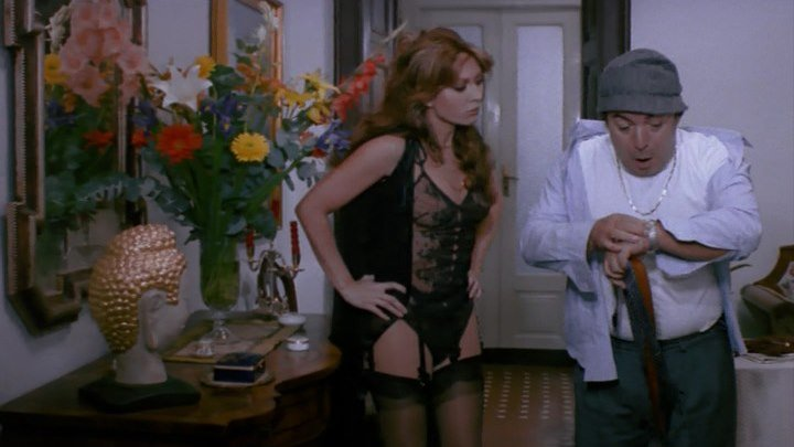 Спагетти в полночь / Spaghetti a mezzanotte (Италия 1981) Комедия ツ Драма (erotic)