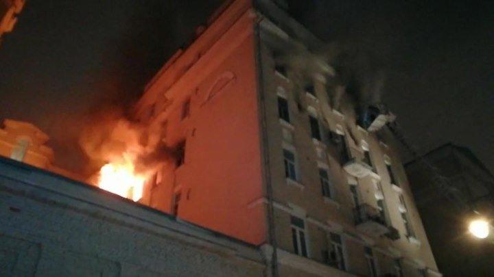 Число жертв пожара на Никитском бульваре выросло до семи | 4 февраля | День | СОБЫТИЯ ДНЯ | ФАН-ТВ