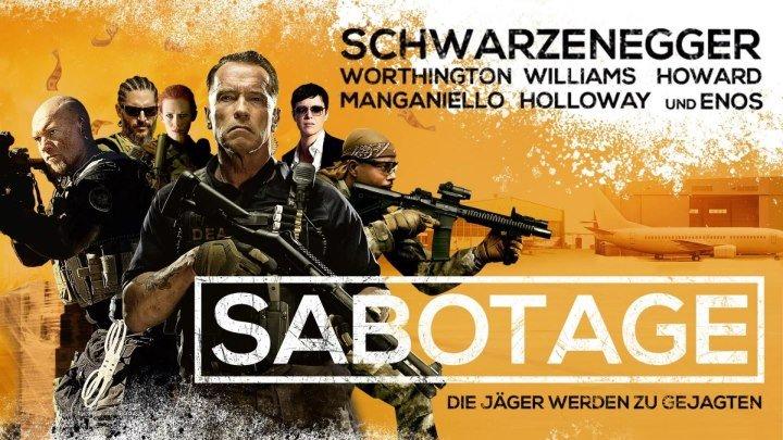 Саботаж (2014) боевик, триллер, драма, криминал