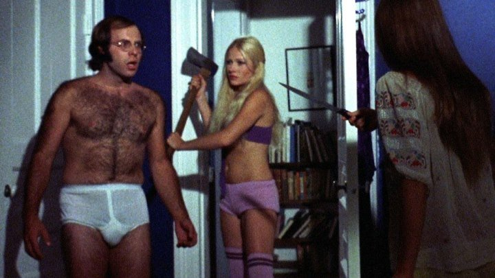 Девушки-каннибалы (Канада 1973) 18+ Ужасы, Комедия, Трэш