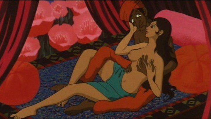 Сказки 1001 ночи (Япония 1969) 18+ Аниме, Фэнтези, Романтика (erotic)