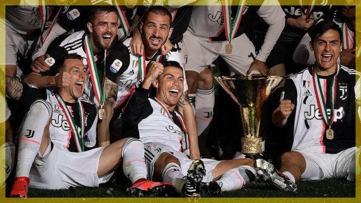 Juventus Campione d'Italia 2018-2019 ☆ La Premiazione