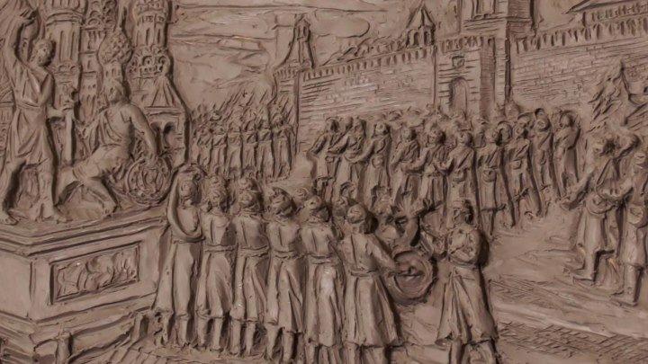 Сопротивление и Победа: над вратами Главного храма ВС РФ уже работают скульпторы. ФАН-ТВ