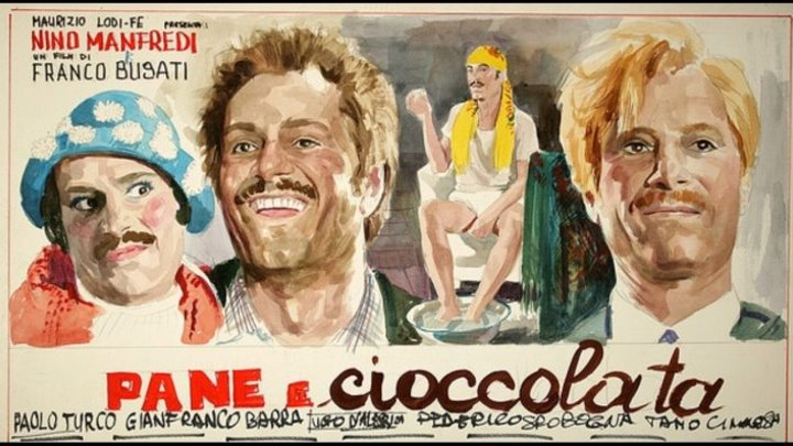 Хлеб и шоколад / Pane e cioccolata (Италия 1974) 16+ Драма, Комедия
