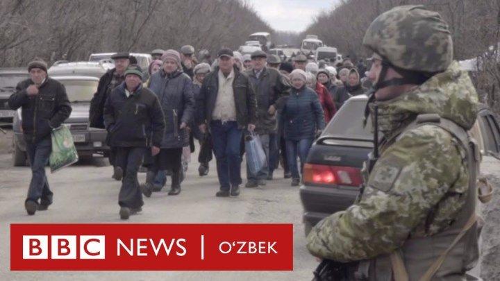 Уруш жабҳасидаги ҳаёт: Украина нафақахўрлари юзма-юз келаётган машаққат - BBC Uzbek