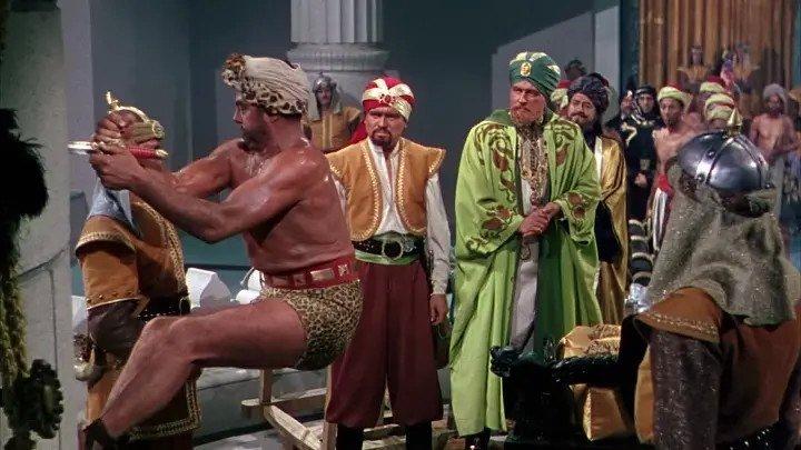 Золотой клинок / The Golden Blade (1953) Приключения