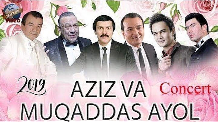 Aziz va Muqaddasan Ayol - 2019-yilgi konsert dasturi