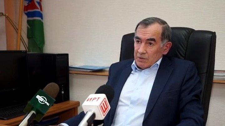 Об отставке мэра Усть-Илимска Вакиля Тулубаева