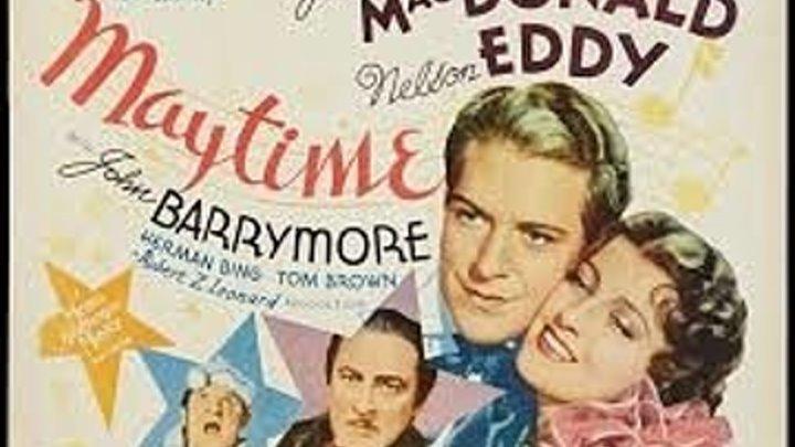 Maytime (1937) Jeanette MacDonald, Nelson Eddy, John Barrymore
