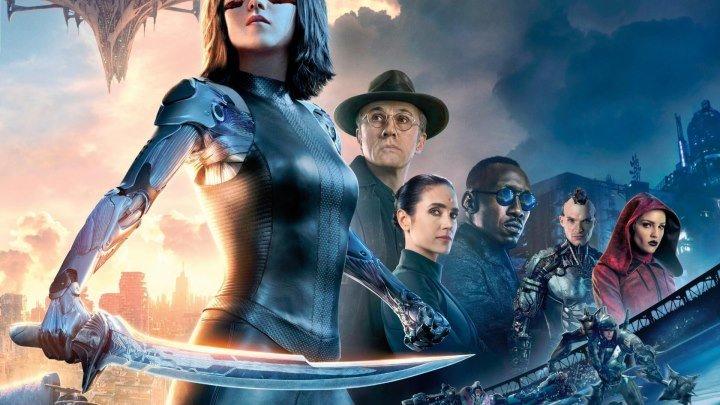 Алита: Боевой ангел 2019(боевик,приключения, фантастика, триллер) - Смотреть в хорошем качестве