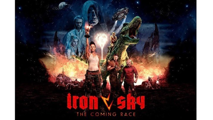 """Железное небо 2 / Iron Sky: The Coming Race"" 2019 (BDRip 1080p)"