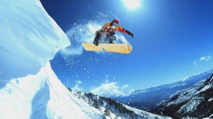 Потрясающий сноуборд! Красивые видеоклипы и отличная музыка