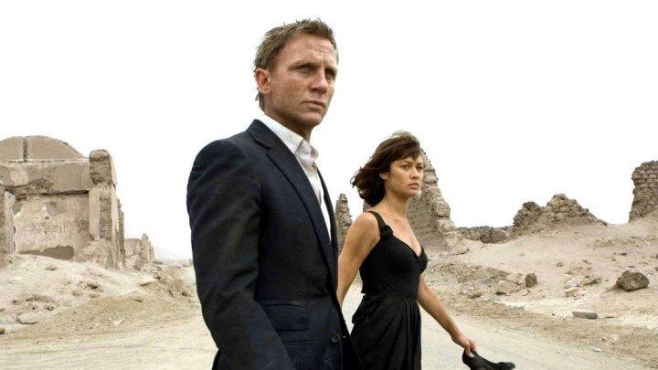 007 Квант милосердия. боевик, триллер, приключения