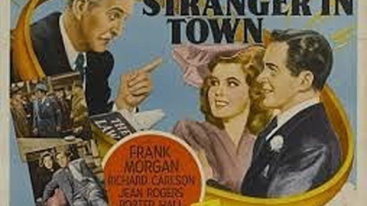 A Stranger In Town (1943) Frank Morgan, Richard Carlson, Jean Rogers