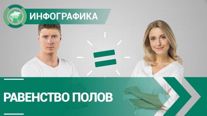 Равенство полов | ИНФОГРАФИКА | ФАН-ТВ