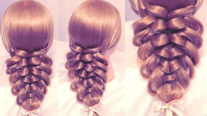 Оригинальная Идея для Причёски
