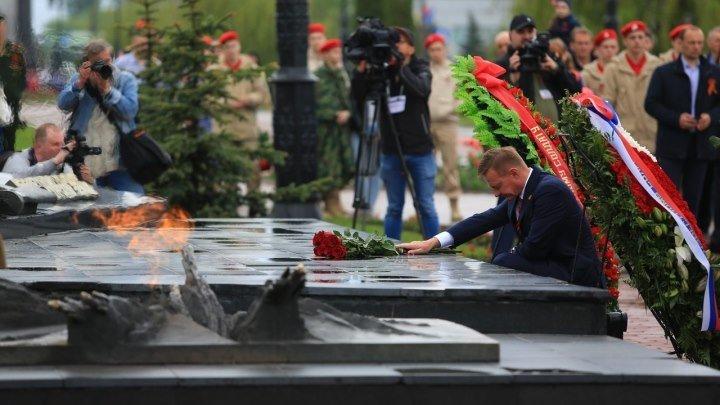Куряне отметили 74-ю годовщину Победы в Великой Отечественной войне
