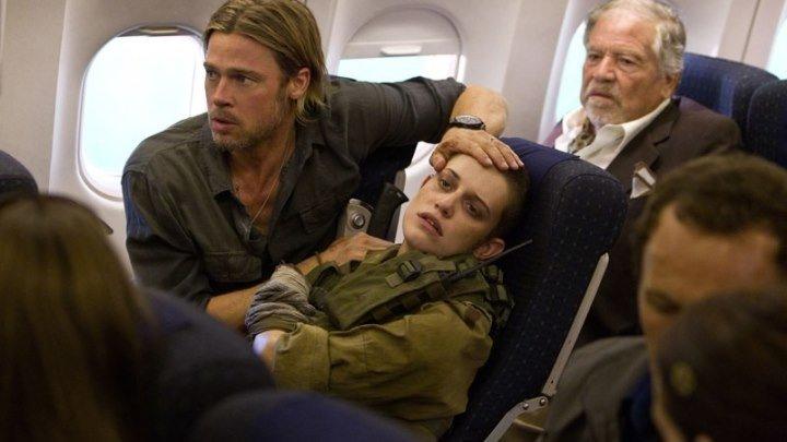 Война миров Z (2013) ужасы, фантастика, боевик, триллер, приключения
