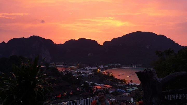 файер Шоу, остров Пхи-Пхи-Дон, Тайланд
