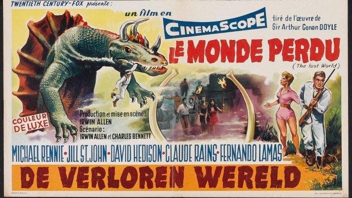 Затерянный мир / The Lost World (1960, США, приключения, фантастика)