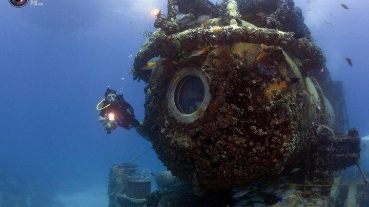 Осушить океан глубокое погружение. Сокровища глубин (2018). Документальный