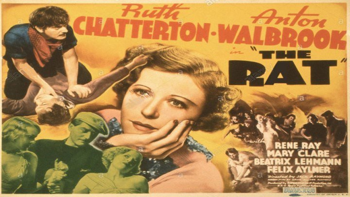 The Rat 🐀 starring Ruth Chatterton!