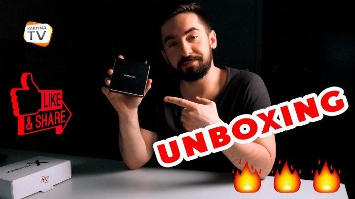 Распаковка - Unboxing - Обзор приставки Kartina X с интерфейсом Dune HD для просмотра Kartina.TV!