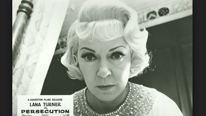 Persecution (1974) Lana Turner, Trevor Howard, Ralph Bates (UK)