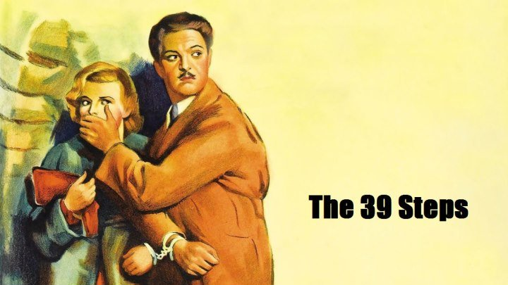 39 ступеней (1935, Великобритания, детектив, триллер, Альфред Хичкок)