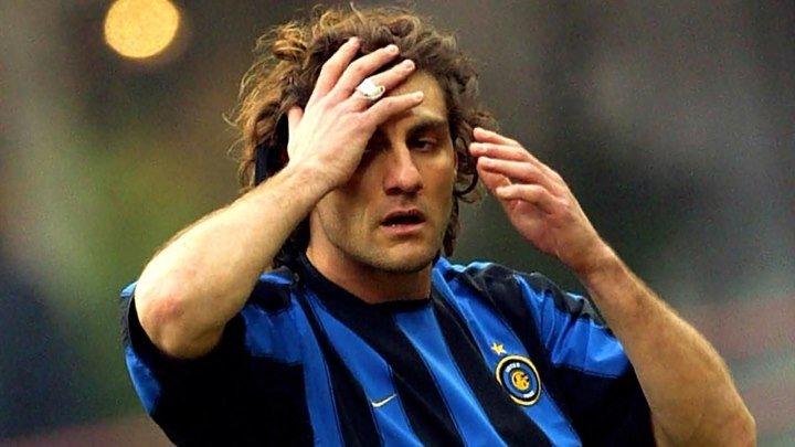 Кристиан Вьери - 100 голов за Интер