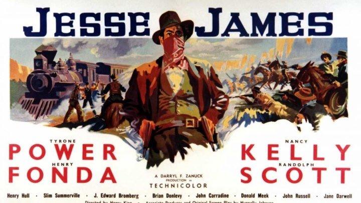 Джесси Джеймс. Герой вне времени (США 1939) Вестерн, Драма, Исторический, Криминал, Биография