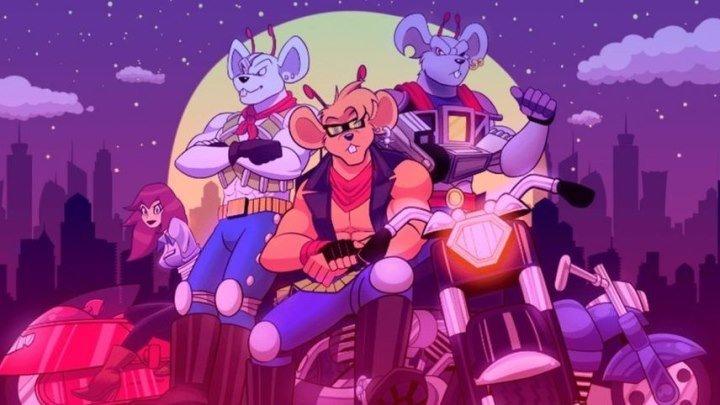 Мыши-рокеры с Марса (1993) 1 сезон 01 серия из 13