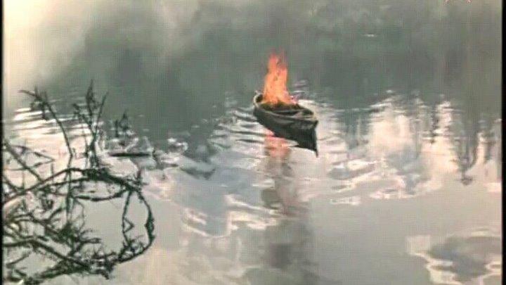 """N.1403 Фильм """"Костёр в белой ночи"""". СССР, 1984 год (фильм-катастрофа)"""