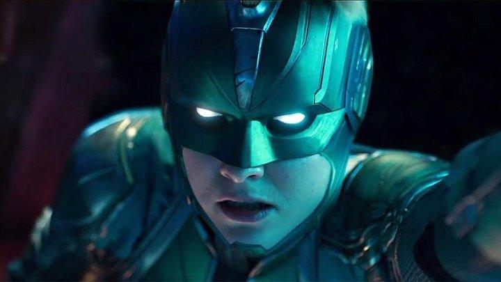 Капитан Марвел – официальный трейлер #2