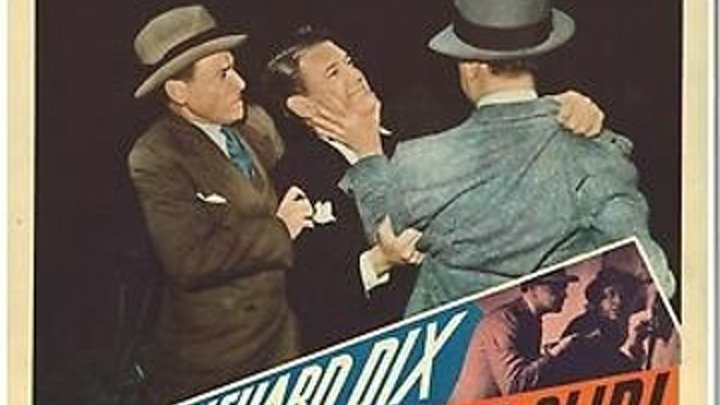 Blind Alibi (1938) Richard Dix, Whitney Bourne, Eduardo Ciannelli