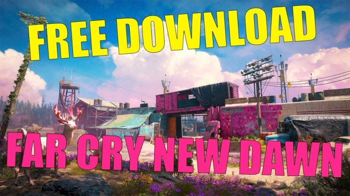 Far Cry New Dawn crack download