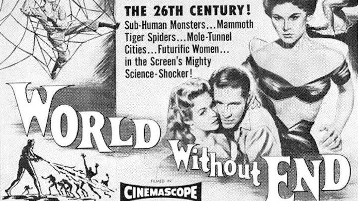 Мир без конца (1956, США, фантастика, постапокалипсис)