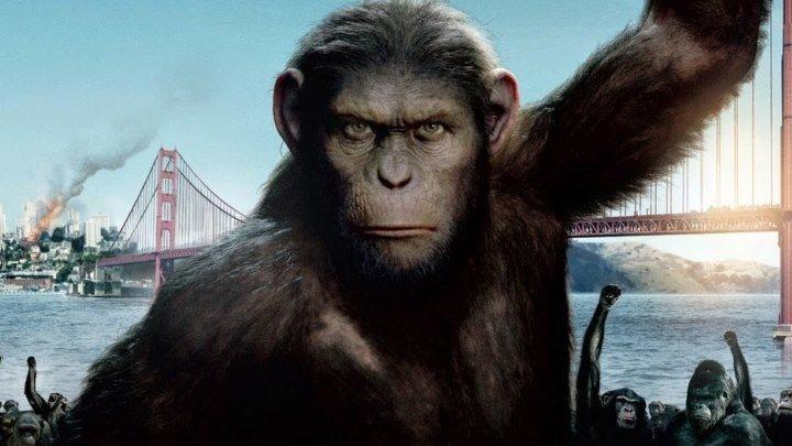 Восстание планеты обезьян. фантастика, боевик, триллер, драма