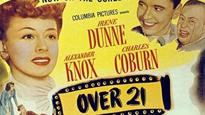 Over 21 (1945) Irene Dunne, Charles Coburn, Lee Patrick