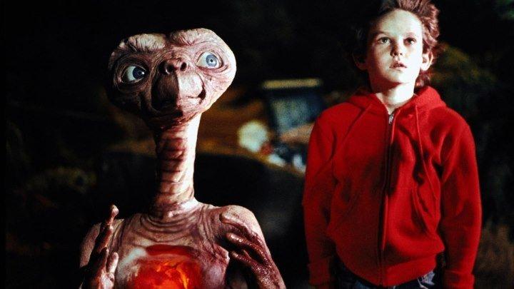 Инопланетянин / E.T.: The Extra-Terrestrial. 1982. 1080p. Перевод Андрей Дольский. VHS