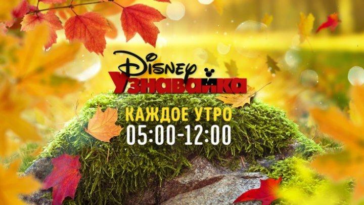 Утренняя рубрика «Узнавайка» на Канале Disney!
