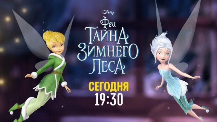 """""""Феи. Тайна зимнего леса"""" на Канале Disney!"""