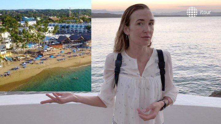 Casa Marina Beach & Reef: обзор отеля с воздуха (Доминикана, Пуэрто-Плата, Сосуа)