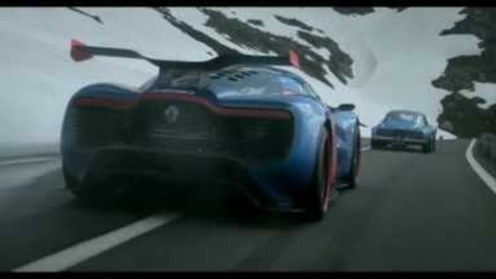 Renault Alpine A110 50 The Movie With Jean Ragnotti